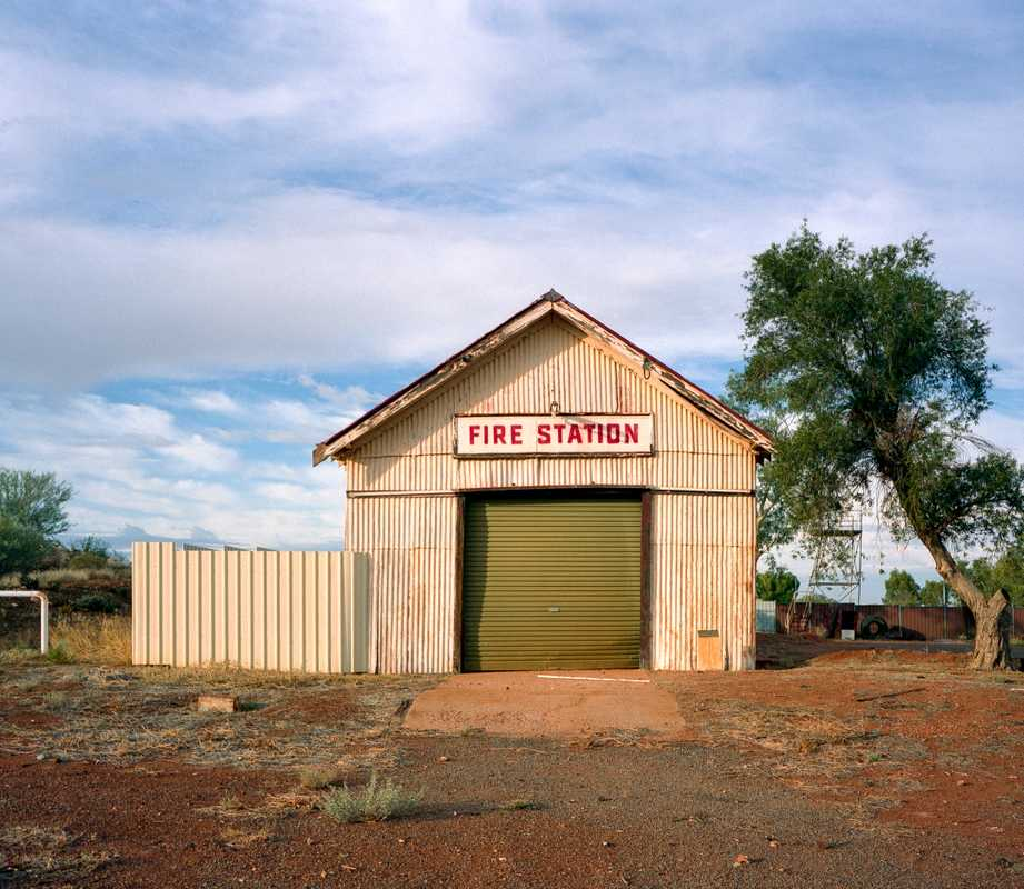 Fire station in Cue