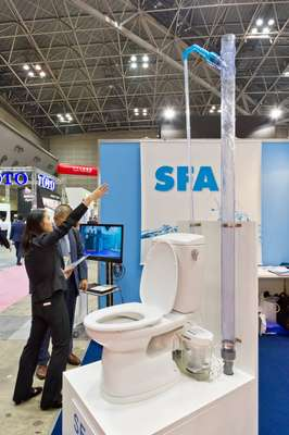 France's SFA, new to the Japanese markets