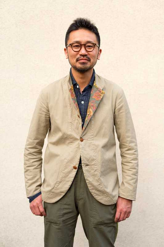 Baracuta - Designer Kenichi Kusano in his studio