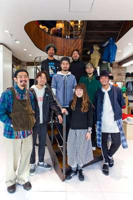 Beams Harajuku shop staff