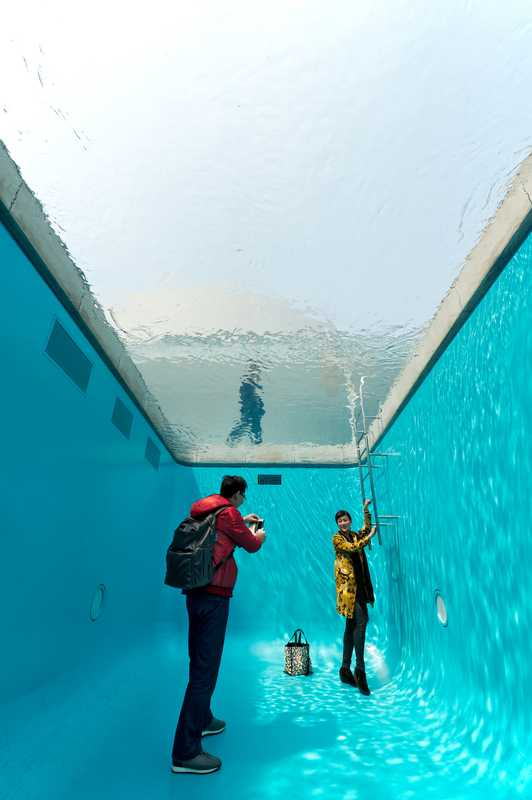 'The Swimming Pool' at 21st Century Museum of Contemporary Art