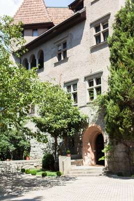 Entrance to Castello Stifterhof