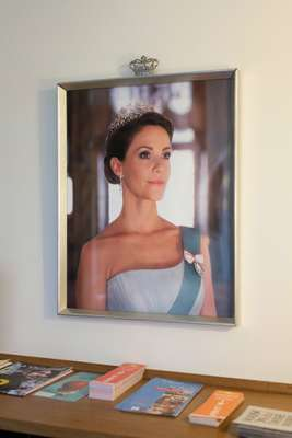 Portrait of Mary, crown princess of Denmark