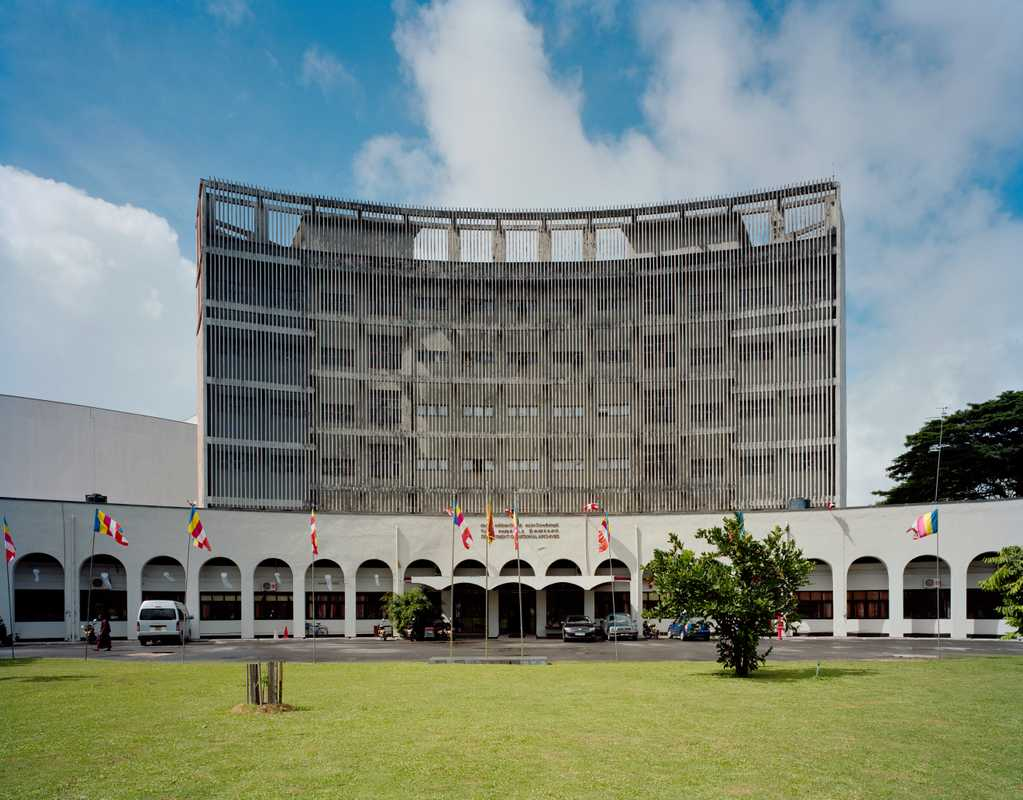 Department of National Archives on Independent Square, Colombo