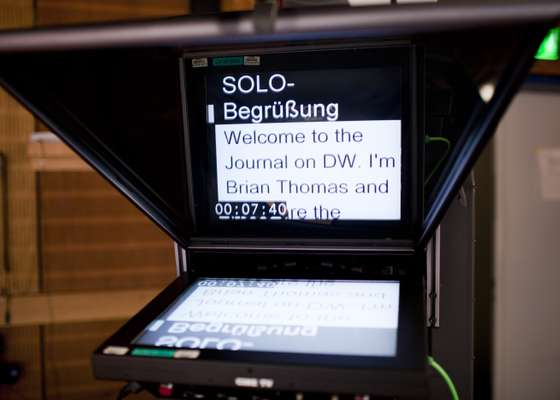 Autocue for Journal