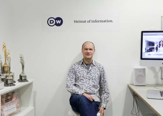 Holger Zeh, creative director of graphic design