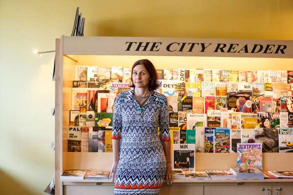 The City Reader owner Karin Dibling, Portland