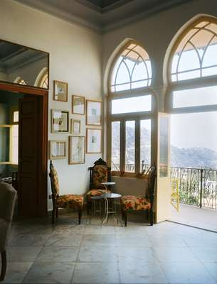 Big windows let in plenty of light and fresh air