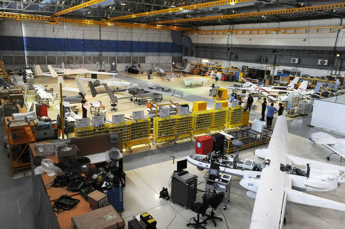 UAV hangar at IAI