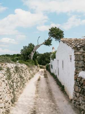 Road alongside the property's exterior