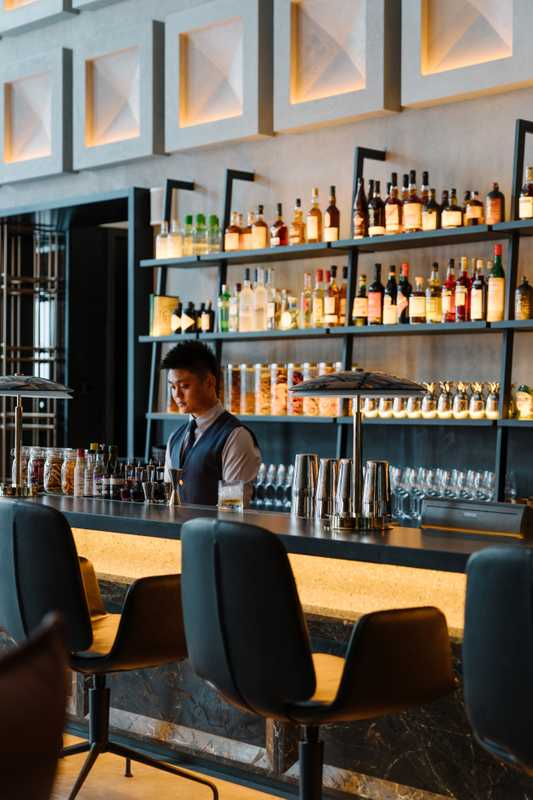 Innovative cocktails reflect the building's storied past