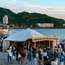 Screenings on the beach during  Zushi's annual film festival