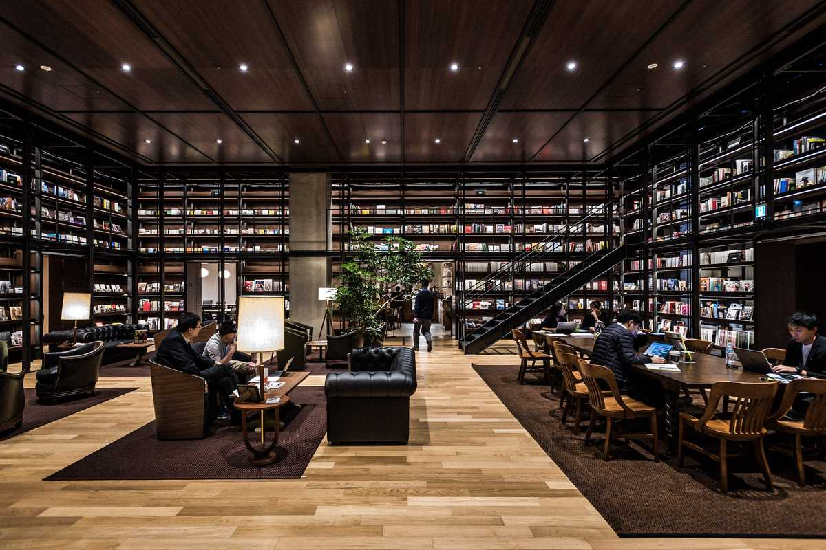 The Reading Room has more than 3,000 titles and offers staff a place to find inspiration