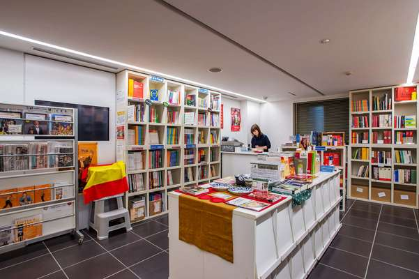 Library of Tokyo's Instituto Cervantes