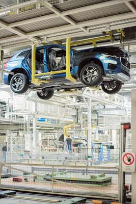 Every hour, 62 cars roll off the assembly line