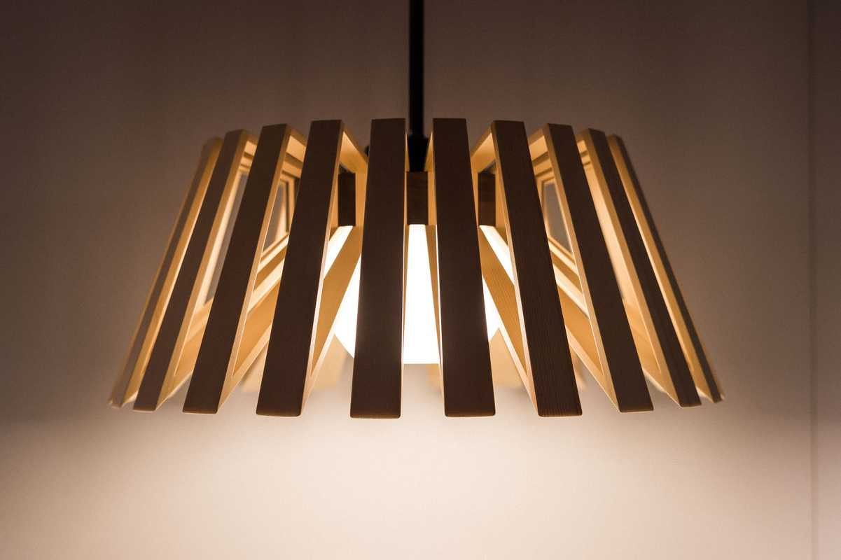 Rita wooden light by Moare