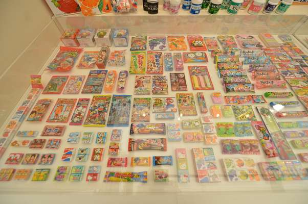 Japanese chewing gum display
