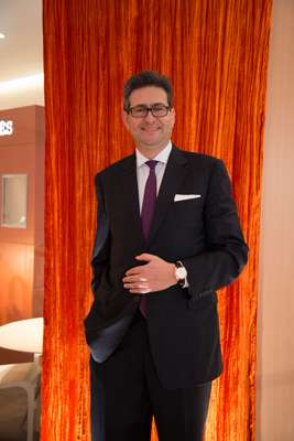Luc Perramond, CEO of La Montre Hermès