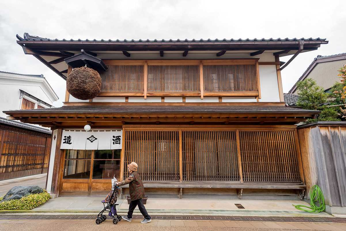 Nearly one third of Toyama's population is over 65