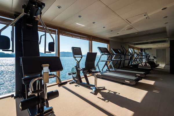 Onboard gym