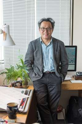Architect and Guntu designer Yasushi Horibe