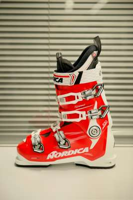 Ski boot design by Nordica