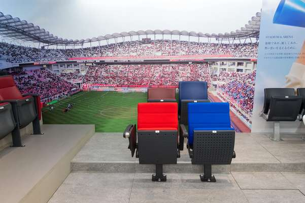 Kotobuki dominates in Japan's stadium-seating market
