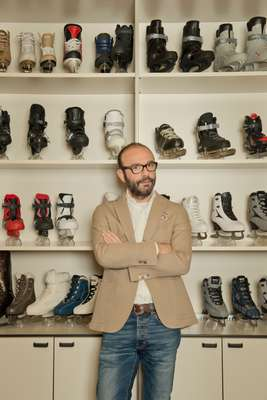 Roces general manager Massimo Cavasin