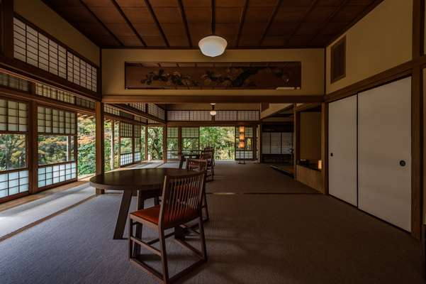 Lounge 'Kashiwa no ma' in Hyosekikaku