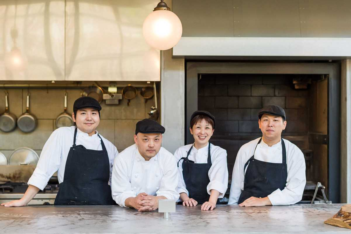 Woodside Restaurant team