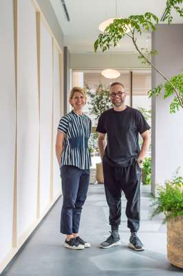 Anne-Marie Buemann and Thomas Lykke of OEO Studio
