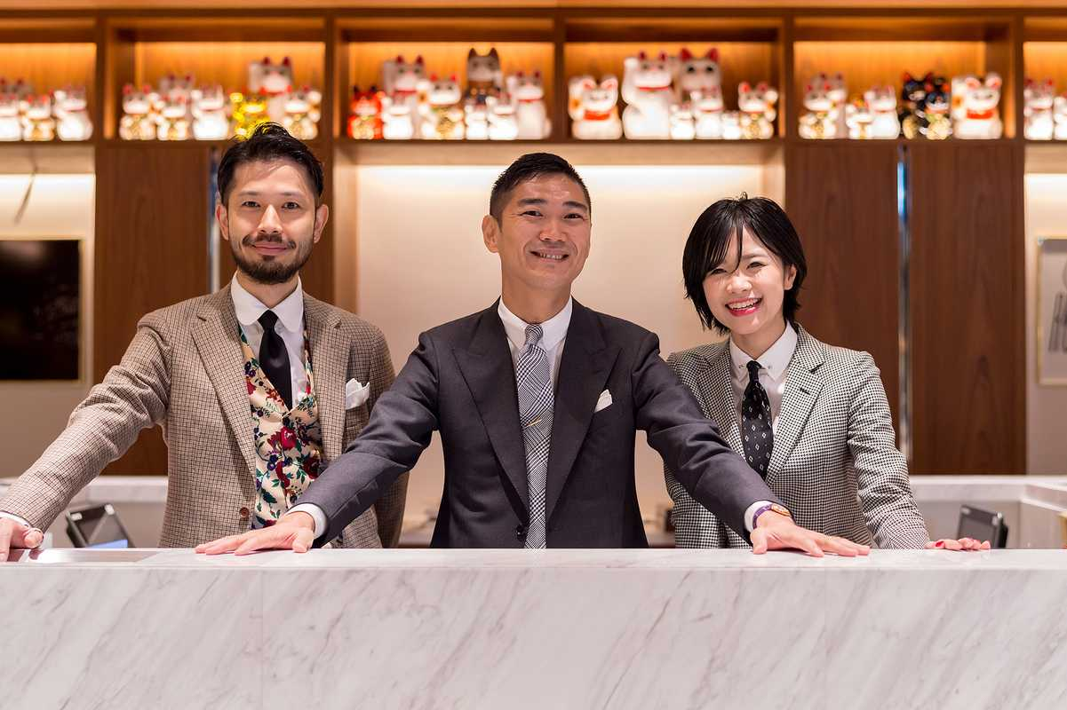 Sales staff at United Arrows Roppongi Hills