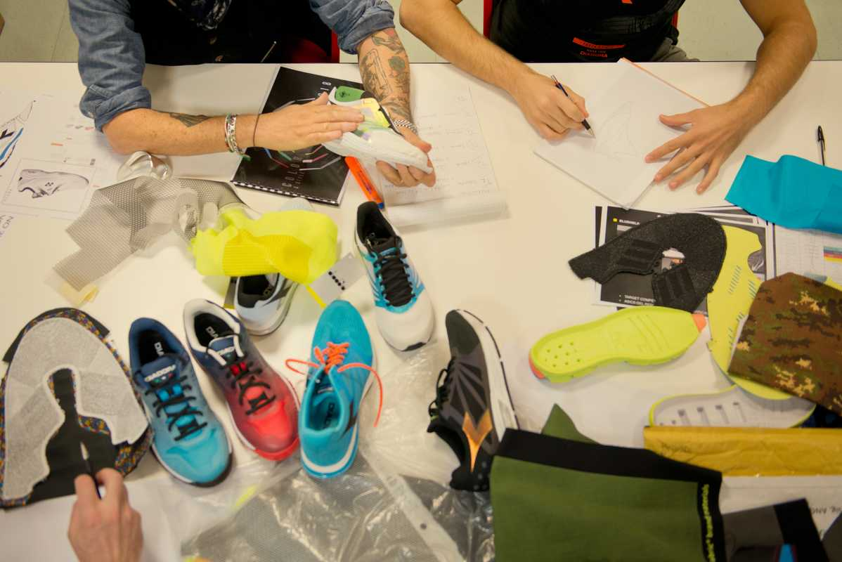 Diadora's designers at work