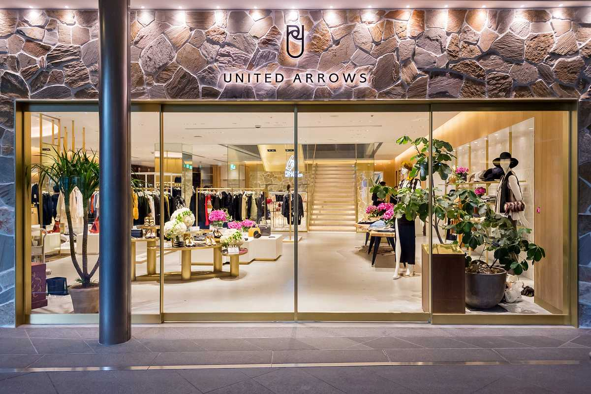 United Arrows Roppongi Hills entrance
