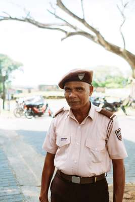 Keeping the peace in Galle