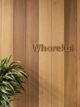 'Wharekai', which roughly translates as café, a social space for staff