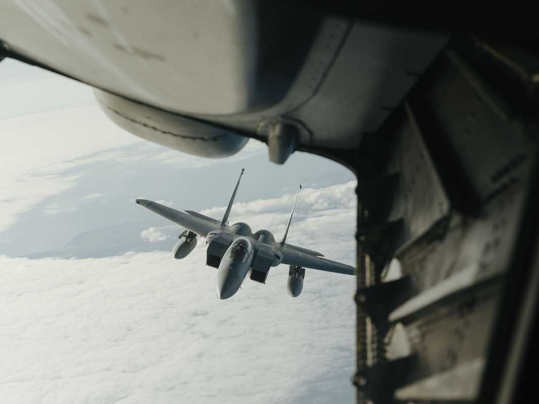 F-15C Eagle on a mission