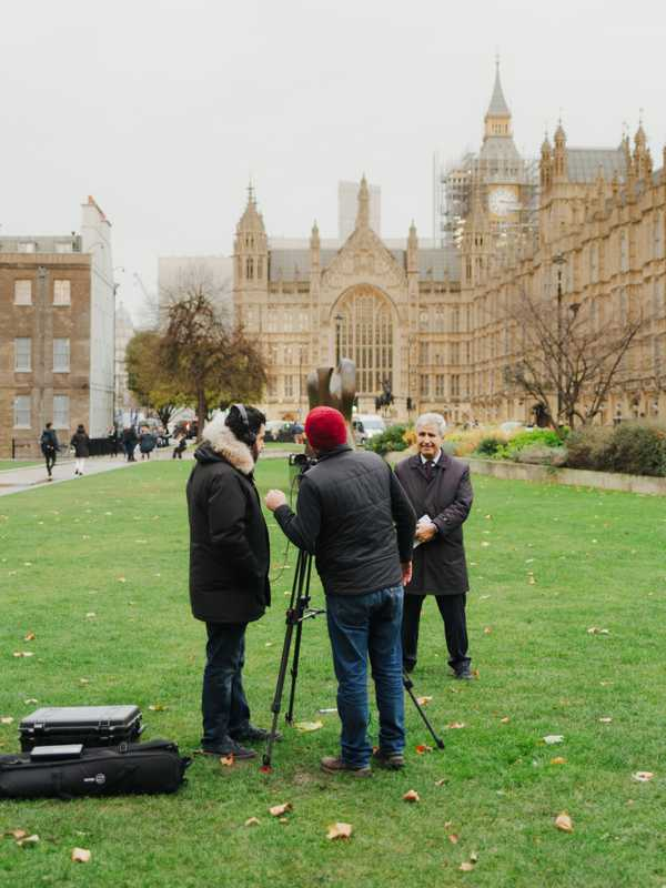 Al Jazeera at the Houses of Parliament