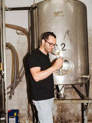 Alexandros Doukas, winemaker at Gentilini