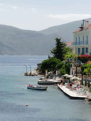 Tourism is providing a global audience for Kefalonia's wine