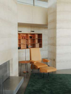 Armchairs designed by Peter Zumthor