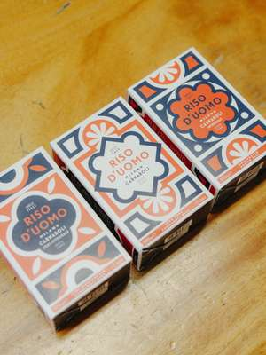Boxes for Riso D'uomo