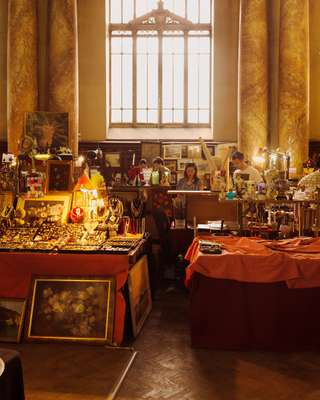 Antique market in Old Town