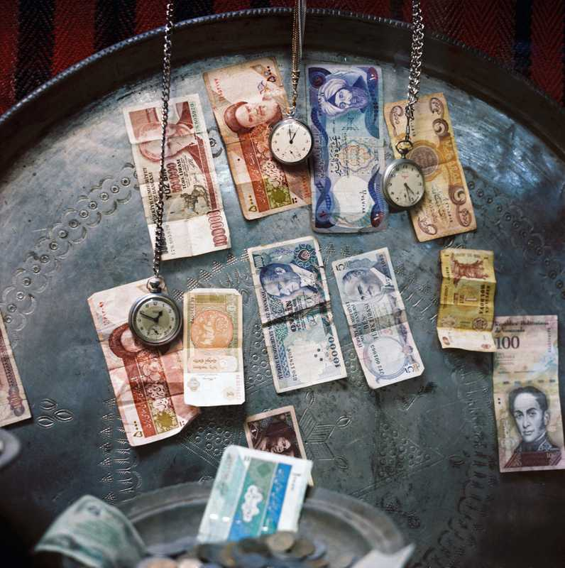 Iranian currency is exchanged in Van