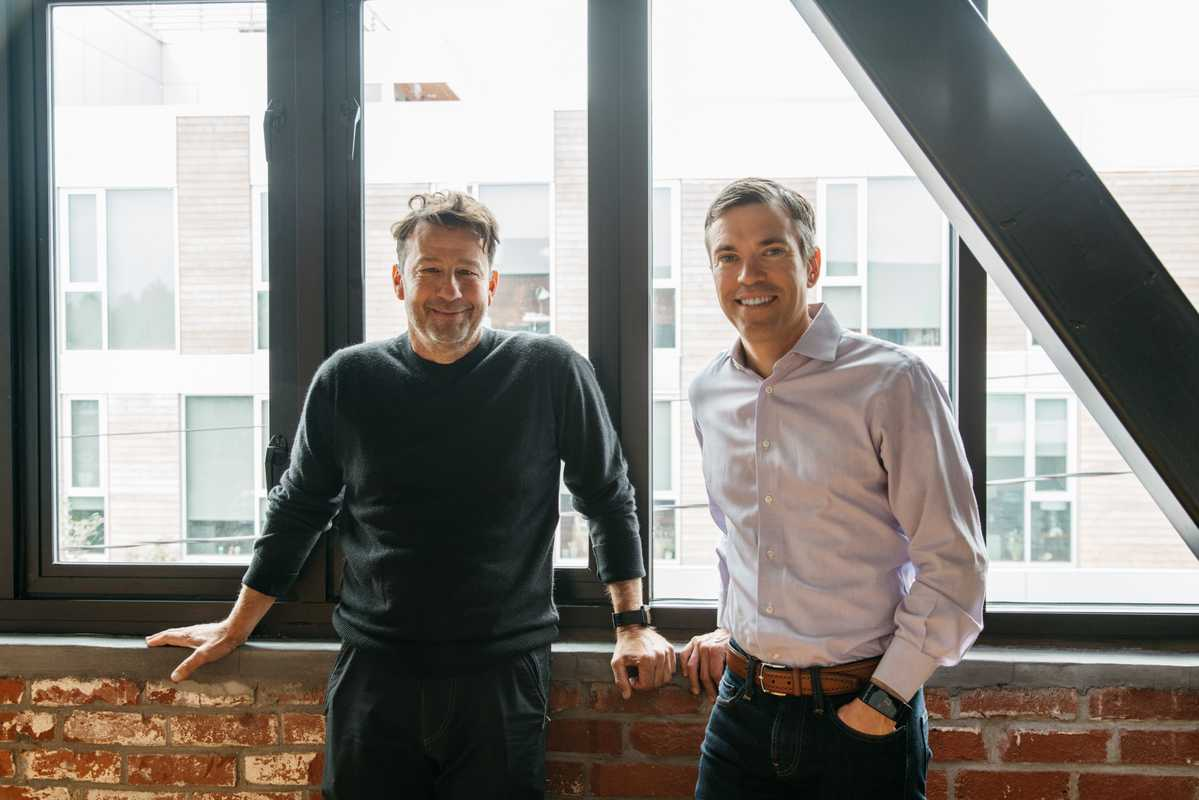 01. Co-founders Avi  Ben-Zaken (left) and Eric Cress