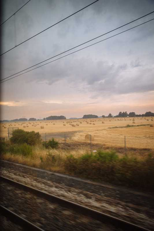 Rural Europe, as seen from high-speed Europe