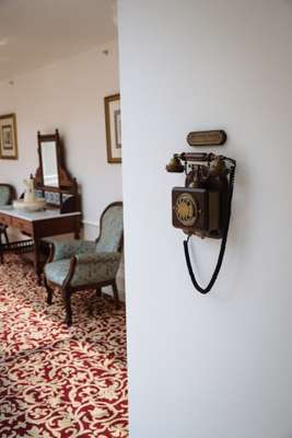 Direct line to front desk