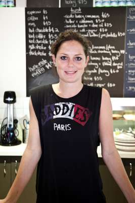 Owner of Four Birds Cafe, Louisa Ainsworth