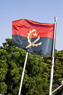 Angola's national flag