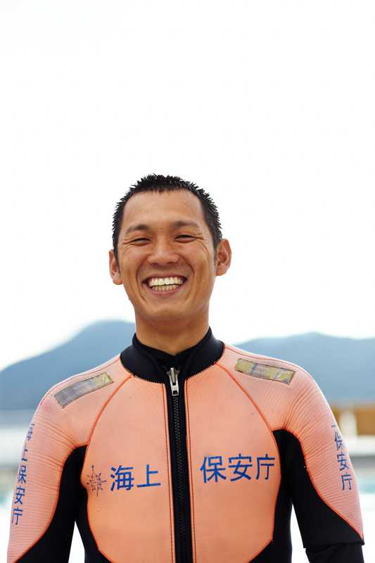 Fellow JCG diving instructor